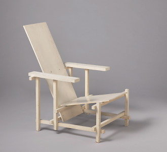 the blank rietveld chair